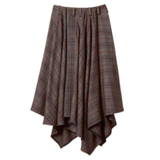 ミッドウエスト(MIDWEST)のlautashi ラウタシー ラップスカート Wrap Skirt(ロングスカート)