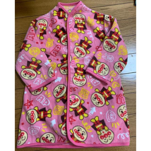 アンパンマン(アンパンマン)のアンパンマン  フリースガウン スリーパー 95cm キッズ/ベビー/マタニティのキッズ服女の子用(90cm~)(パジャマ)の商品写真