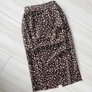 GRL - GRL レオパードスカート