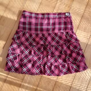 エニィファム(anyFAM)のチェックスカート(スカート)