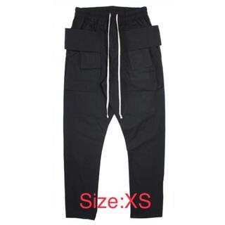mnml drop crotch cargo pants black(ワークパンツ/カーゴパンツ)