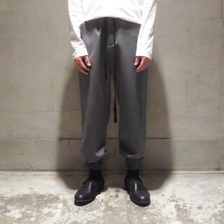 SUNSEA - sunsea wool straight pants   美品