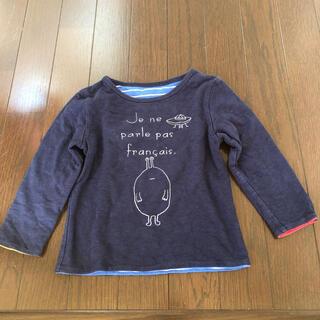 Design Tshirts Store graniph - グラニフ リバーシブル 厚手ロンT