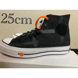 コンバース(CONVERSE)のROKIT × CONVERSE CHUCK 70 黒/25cm CT70(スニーカー)