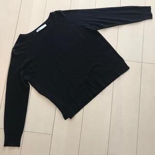 ZARA - ZARA 黒ニットSサイズ