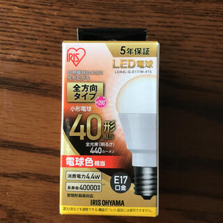 アイリスオーヤマ(アイリスオーヤマ)のアイリスオーヤマ LED電球 電球色(蛍光灯/電球)