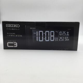 セイコー(SEIKO)の新品未使用 セイコー  クロックSEIKO デジタル電波時計 C3 DL305K(置時計)