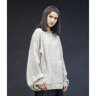 アンユーズド(UNUSED)のmy beautiful landlet knitting × sweat(スウェット)