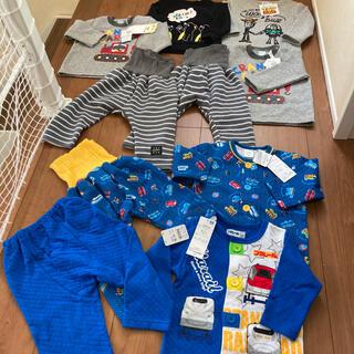 新品 パジャマ トレーナー 腹巻き付きパンツ まとめ売り 男の子 双子