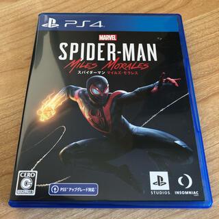 マーベル(MARVEL)のMarvel's Spider-Man: Miles Morales PS4(家庭用ゲームソフト)