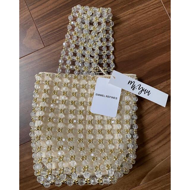IENA SLOBE(イエナスローブ)のMs yuu ビーズバッグ レディースのバッグ(ハンドバッグ)の商品写真