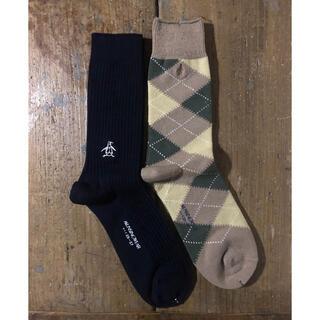 マンシングウェア(Munsingwear)の新品 munsingwear ソックス 2足セット(ソックス)