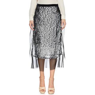 サカイ(sacai)のsacai 18ss スパンコールスカート定価10万円(ひざ丈スカート)