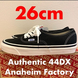 VANS - 26.0 VANS Authentic 44DX Aneheim factory