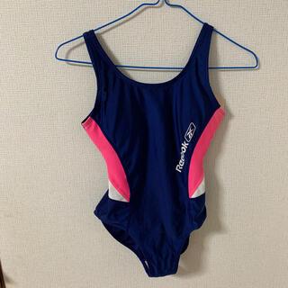 Reebok - Reebok(リーボック)女児 紺色 競泳水着 160センチ(M)サイズ
