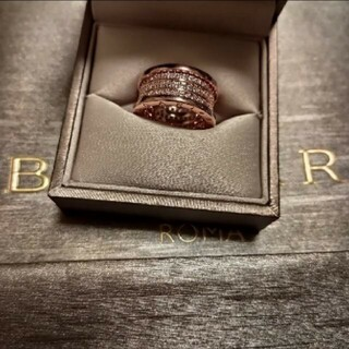 BVLGARI - 美品❣️ブルガリ 🅱️-zore1.ダイヤリング