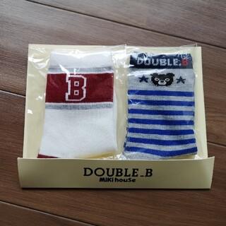 ダブルビー(DOUBLE.B)のMikihouse 靴下 15〜17cm DOUBLE_B(靴下/タイツ)
