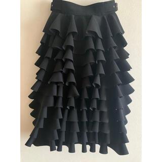 COMME des GARCONS - noir フリルスカート