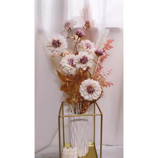 クリスマス🎄お正月に🎍ダリア&ユーカリセット 造花(ドライフラワー)