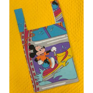 Disney - ディズニー エコバッグ ビンテージシーツ ハンドメイド
