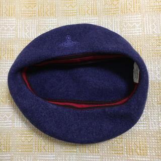 ヴィヴィアンウエストウッド(Vivienne Westwood)のヴィヴィアンウェストウッド ベレー帽 帽子 バスクベレー(ハンチング/ベレー帽)