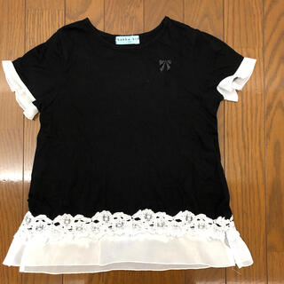 ハッカキッズ(hakka kids)のハッカキッズ 女の子 半袖(Tシャツ/カットソー)