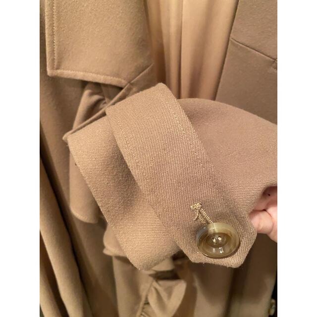 eimy istoire(エイミーイストワール)のエイミーイストワール⭐︎フリルコート レディースのジャケット/アウター(チェスターコート)の商品写真