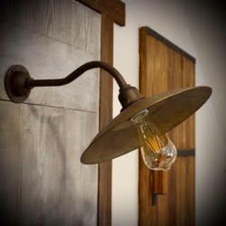 ‼️ラスト1点‼️ノスタルジック外灯Ⅱ/鋳肌真鍮色/ブラケットライト