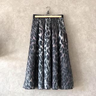 DOUBLE STANDARD CLOTHING - 新品 Sov. オリジナルボンディングプリントスカート ダブスタ 2020AW