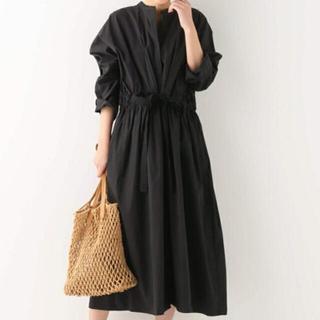 L'Appartement DEUXIEME CLASSE - 新品・タグ付き*Simplicite ドルマン ロングコート*黒 ブラック