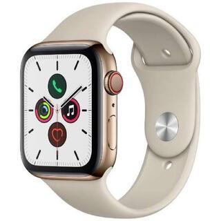 未開封 Apple Watch Series 5-44mmゴールドステンレス(腕時計(デジタル))