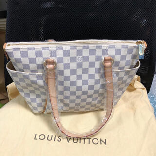 LOUIS VUITTON - アズールトータリーPMルイヴィトントートバッグ