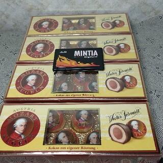 【格安❗】オーストリア産マナー社製モーツァルトチョコレート132g8粒入×4箱