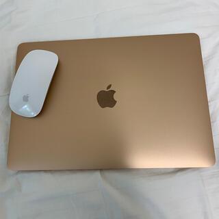 Apple - MacBook air13inc ゴールド+Magic Mouse