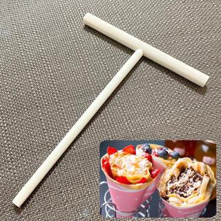 《新品》クレープ用 トンボ 木製 12cm×16cm