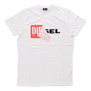 ディーゼル(DIESEL)の偽なら返金 本物保証 DIESEL TーDIEGOーQA Tシャツ 白 XXL(Tシャツ/カットソー(半袖/袖なし))