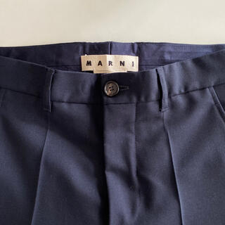 Marni -  新品未着用 MARNI マルニ ウールパンツ スラックス パンツ