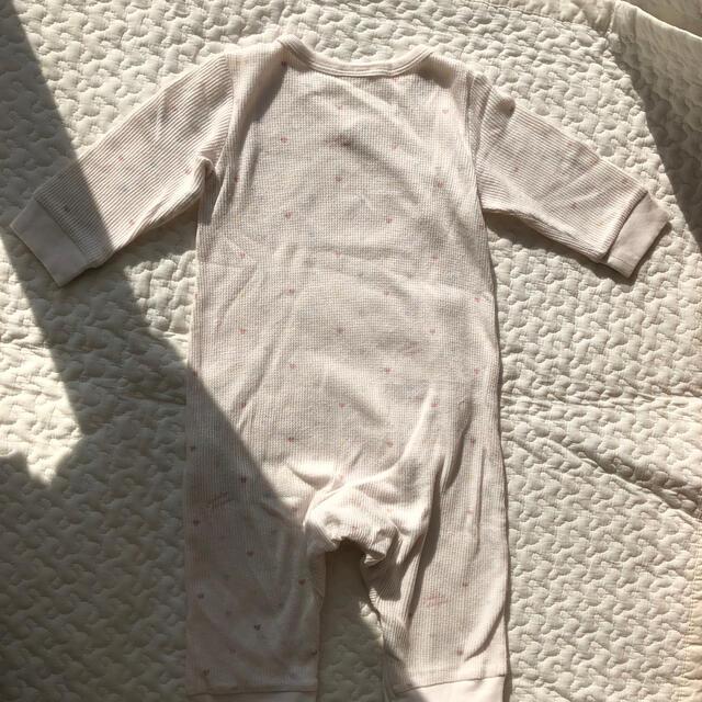 gelato pique(ジェラートピケ)のほぼ未使用*ジェラートピケロンパース キッズ/ベビー/マタニティのベビー服(~85cm)(ロンパース)の商品写真