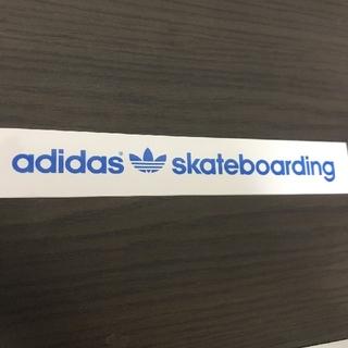 adidas - (縦3.1cm横20.4cm)adidas sketeboodng ステッカー