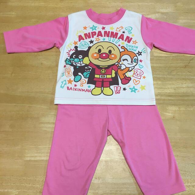 アンパンマン(アンパンマン)のアンパンマン パジャマ 80 キッズ/ベビー/マタニティのベビー服(~85cm)(パジャマ)の商品写真