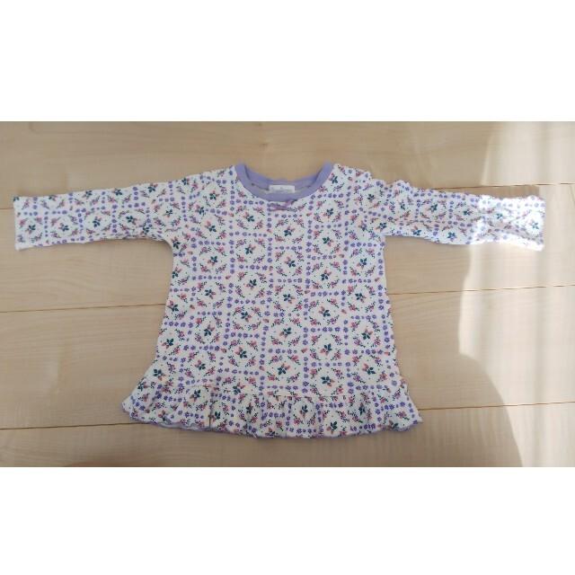 ampersand(アンパサンド)のアンパサンド・パジャマサイズ90 キッズ/ベビー/マタニティのキッズ服女の子用(90cm~)(パジャマ)の商品写真