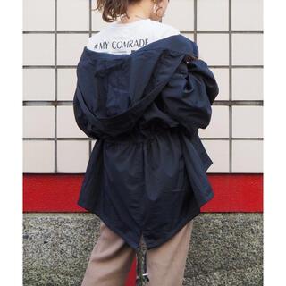 ティップトップ(tip top)の【tiptop】 美品 マウンテンパーカー 紺 ネイビー ミリタリー(ナイロンジャケット)