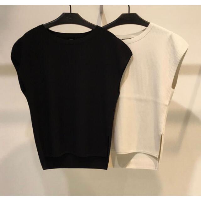 theory(セオリー)のTheory 20ss フレンチスリーブプルオーバーニット レディースのトップス(カットソー(半袖/袖なし))の商品写真