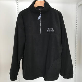 1LDK SELECT - Ennoy Half-Zip Fleece Black L エンノイ フリース