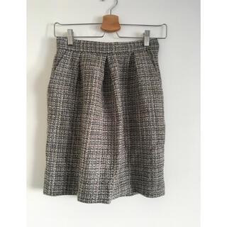 パターンフィオナ(PATTERN fiona)の美品♡PATTERN♡ツイードタイトスカート(ミニスカート)