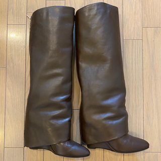 アパルトモンドゥーズィエムクラス(L'Appartement DEUXIEME CLASSE)のアパルトモン購入✳︎HOTEL PARTICULIER カバーロングブーツ(ブーツ)