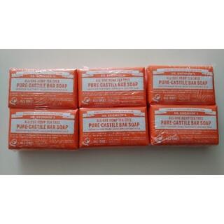 ドクターブロナー(Dr.Bronner)のマジックソープ ティーツリー ドクターブロナー magic soap 石鹸(ボディソープ/石鹸)
