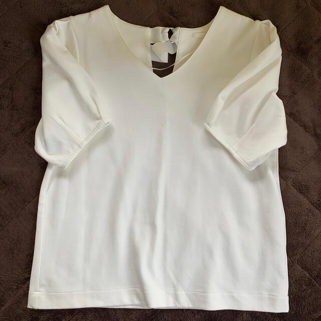 GU(ジーユー)のトップス GU レディースのトップス(シャツ/ブラウス(半袖/袖なし))の商品写真