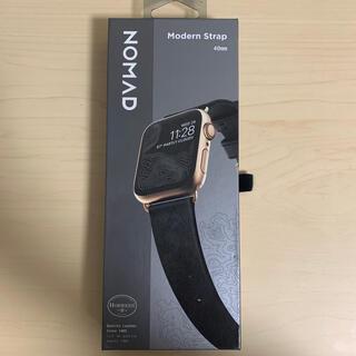 アップルウォッチ(Apple Watch)のNOMAD Modern Strap Black レザー Apple Watch(レザーベルト)
