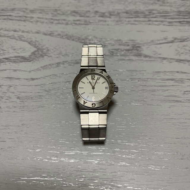 【値引中】ブルガリ ディアゴノスポーツ LCV 29S 自動巻き レディースのファッション小物(腕時計)の商品写真